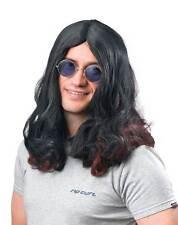Ozzy Osbourne Wig,Rocker/Hippie/Hippy,Long Fancy Dress Party Wig,Halloween #AU