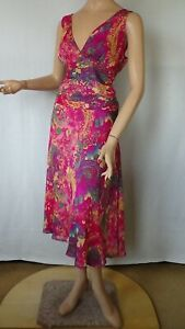 SIZE-14, NAKED ART Very Pretty Dress Made in Australia.