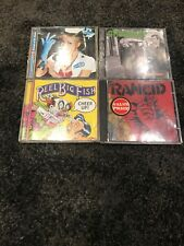 Pop Punk Ska Cds Blink 182 Green day  Reel Big Fish Rancid x4