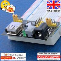 Breadboard Power Supply Module 3.3V - 5V Arduino Raspberry PI Bread Board MB102