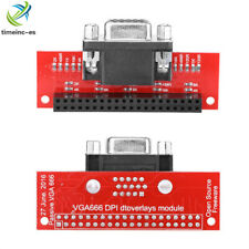 Hot Gert-VGA VGA666 DPI Dtoverlays Module Adapter For Raspberry Pi 3/Pi 2/B+/A+