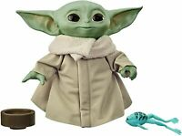 Star Wars The Child Talking Plush Toy + Sounds - The Mandolorian Baby Yoda Grogu