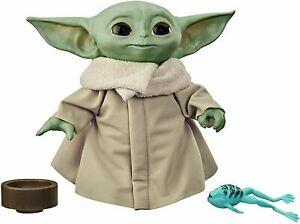 Star Wars The Child Talking Plush Toy + Sounds - The Mandolorian Baby Yoda Grogu