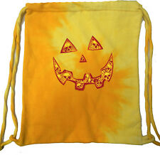 Halloween Jack O Lantern Skull Tie Dye Bag
