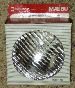 Malibu Intermatic Lamp Polystar Sonic Sealed Beam LV500 Low Voltage 12V 11W NIB