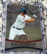 ALEX DICKERSON 2010 Bowman PLATINUM Rookie Card RC San Francisco Giants $ HOT $
