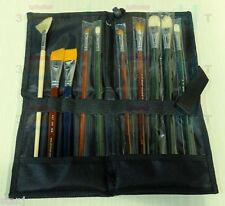 Artist Brush Folding Wallet Case Bag Holdrer Mont Marte Painting Storage NEW