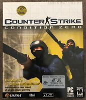 COUNTER STRIKE BIG BOX PC GAME - by Sierra and Valve