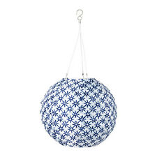 NEW IKEA SOLVINDENI DECORATION WHITE,BLUE SOLAR POWERED LED LIGHT GLOBE 12""