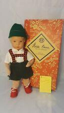 """Kathe Kruse Doll Vintage Puppe Original Box 10"""" Tall"""