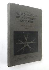 c1912 Complete 3 Volume Set Sword Dances Of Northern England Cecil Sharp 8194