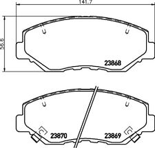 Mintex Front Brake Pad Set MDB2265  - BRAND NEW - GENUINE - 5 YEAR WARRANTY