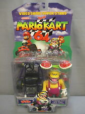 "2000 Toy Biz Mario Kart 64 ""WARIO w/ SHELL"" New Nintendo Video Game Superstars"