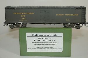 HO Brass Pacific Fruit Express 52' Wood Express Reefer ca.1950's CIL #2530.1