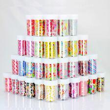 15 Stk Nagelfolie Transferfolie Zauberfolie Nail Art Sticker Glitter Tip Kit