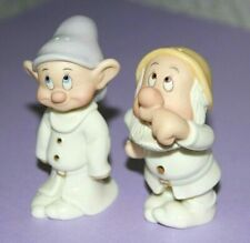Lenox Dopey and Sneezy Salt & Pepper Shakers