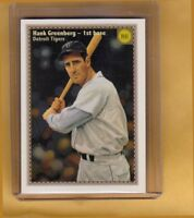 HANK GREENBERG '41 DETROIT TIGERS MILLER PRESS LIMITED EDITION NM-MINT COND