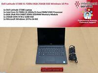 Dell Latitude E7280 i5-7200U 8GB 256GB M.2 SSD Windows 10 Pro  **Touch Screen**
