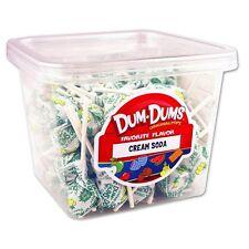Dum Dum Pops Favorite Cream Soda Flavor Big TWO Big 1 Lb Tubs! Lollipop Dum Dums