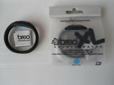 Breo  Roam XL Sports Watch in black. Medium size.17cm.