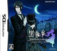 USED Nintendo DS Kuroshitsuji Phantom & Ghost