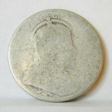 CANADA Edward VII: 1903 silver 25 Cents - toned; about G