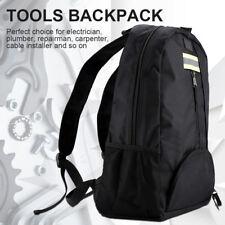 Wear-Resistant Tool Backpack Bag Carrier Storage Electrian Builder Tradie Box