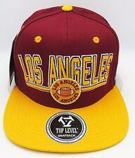 LA City LOS ANGELES CA Snapback Cap Hat USC Trojans Football Caps Hats NWT