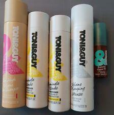 Toni&Guy Illuminate Conditioner radiating tropical oil volume mousse dry shampoo