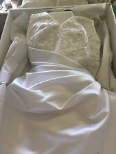wedding gown halter too corset back michealangelo made it is a size 12