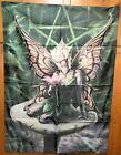 "Anne Stokes Mushroom Fairy Cloth Fabric Poster Flag Banner 30"" x 40"" Brand New"