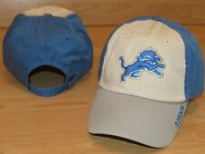 Detroit Lions NFL Team Cotton Adjustable Hat Cap Men's - Three Color