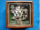 SEXTANT 1917 Kelvin & Hughes of LONDON antique brass Nautical Instrument w/box