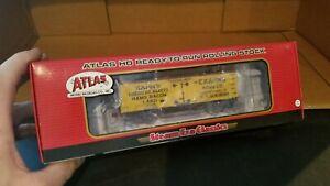 "Atlas Trains Steam Era Classics ""KAHN'S AMERICAN BEAUTY"" wood reefer xcd"
