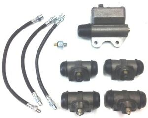 Brake Hydraulics Set for 1937-1941 Plymouth