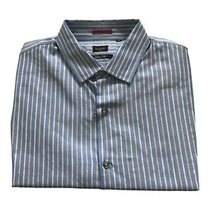 Paul Smith London Ls Shirt Slim Fit Größe 16.5/42 Pit 2 Pit 54.6cm