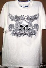 j61:New Sturgis Biker Rally Cotton T-Shirt-Large-XL-Off White