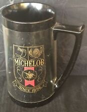 MICHELOB Vintage THERMO-SERV Insulated Plastic Beer Coffe Drink Travel Mug