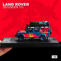 Master 1:64 Land Rover Defender 110 Racing Diecast Model SUV Car NEW IN BOX