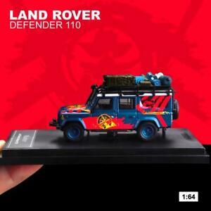 Master 1:64 Land Rover Defender 110 Racing Diecast Model SUV Car NEW IN BOX