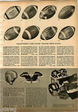 1958 ADVERTISEMENT Football Wilson Reach Hopalong Cassidy Eddie LeBaron Graham