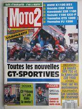 MOTO 2 N° 37 /BMW K1100 RSI-CBR 1000-ZZR 1100-1100 GSX F-YAM' GTS 1000,FJ 1200