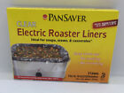NEW Pansaver Clear Electric Roaster Oven Cooking Liners Easy Clean Up 350 Degree photo