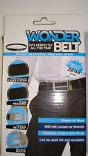 """Comfort Click Wounder Belt for Men Black Belt 28""""-48"""""""