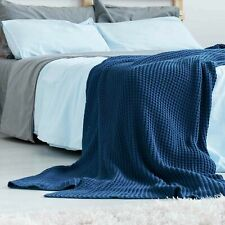 Blaue Bettüberwürfe & Tagesdecken