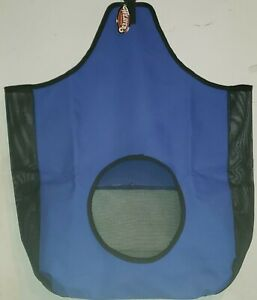 Weaver Leather Co. Hay Bag with Mesh Sides, Blue 35-1384-BL
