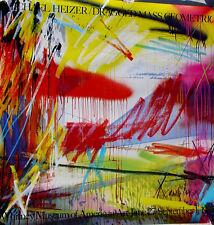 Michael Heizer•Dragged Mass Geometric•Whitney Museum 1985•Oversize 46x46 Poster