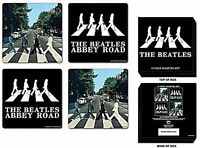 Beatles Abbeyt Road drinks coaster set (ro) REDUCED TO CLEAR-----------------