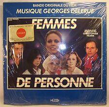 Georges Delerue FEMMES DE PERSONNE Mint/Sealed French 1984 LP