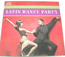 Latin Dance Party Music Guitar Trumpet Instrumentals CD NIP Rumba Puerto Mambo